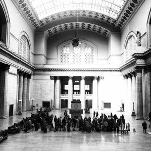 Passengers at Chicago Union Station